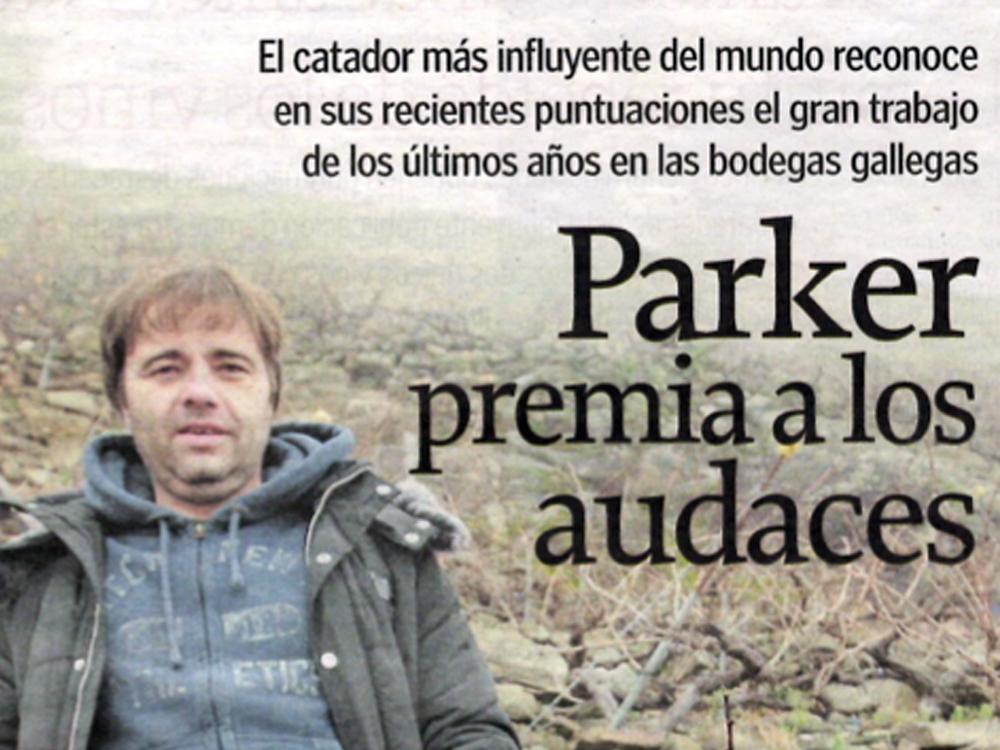 . Enero 2015La Voz de Galicia-De Vinos. Enero 2015